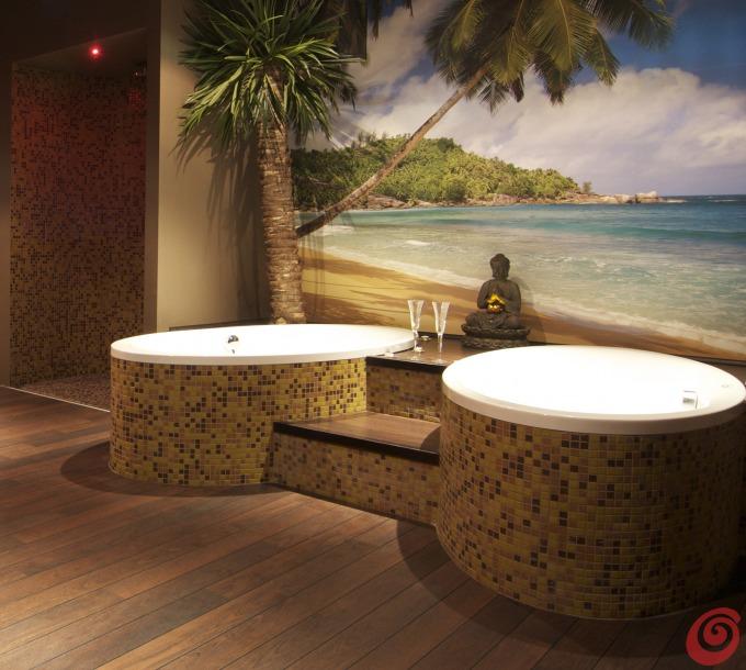 Una spa per ispirarsi casa e trend - Bagno stile spa ...