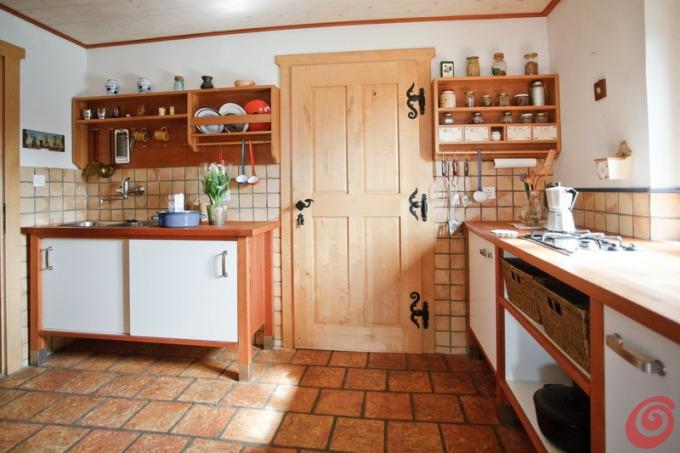Cucina rustica in una casa di montagna casa e trend - Casa di montagna ...