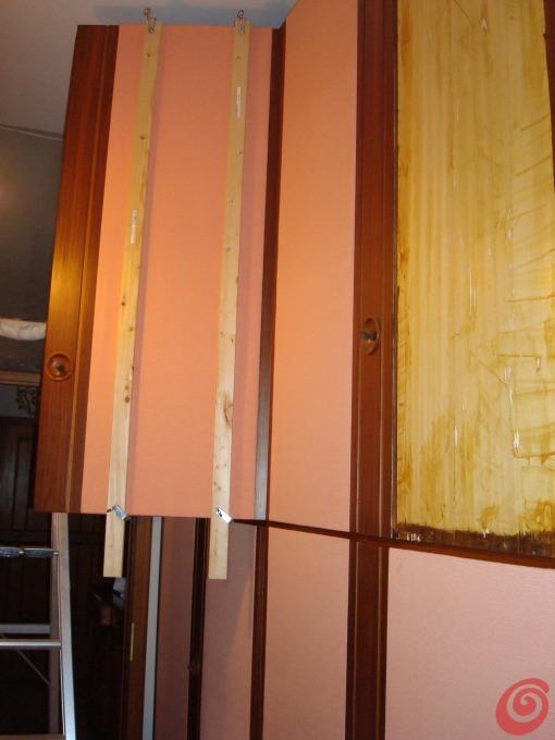 Rinnovare l 39 aspetto di un vecchio armadio casa e trend - Come sistemare l interno dell armadio ...