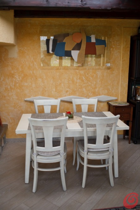 Sala da pranzo rustica casa e trend - Sala da pranzo rustica ...
