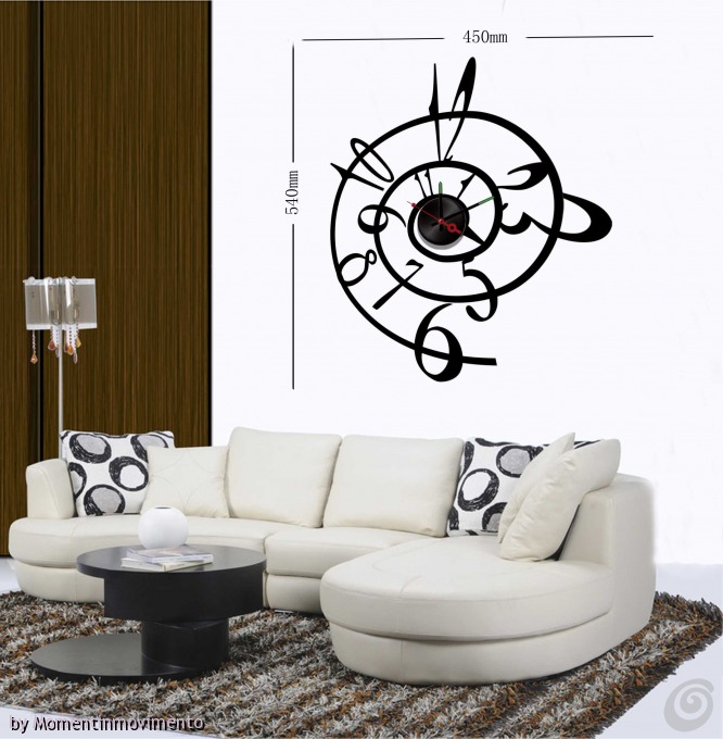 Gli Orologi Adesivi Di Momentinmovimento Casa E Trend
