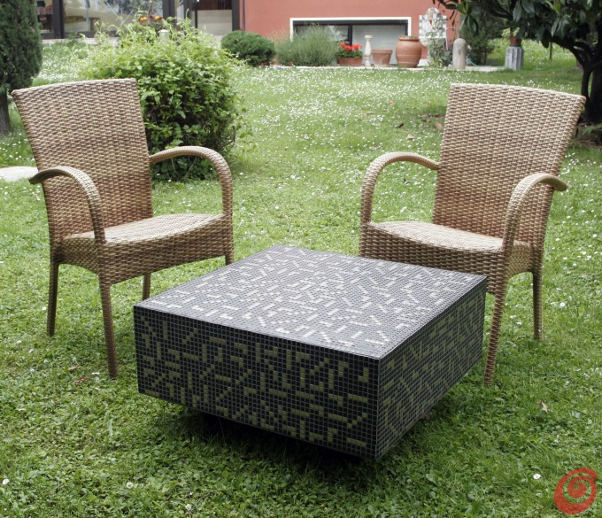 Tavolo mosaico fai da te latest ceramiche palermo sicilia - Tavolo con piastrelle fai da te ...