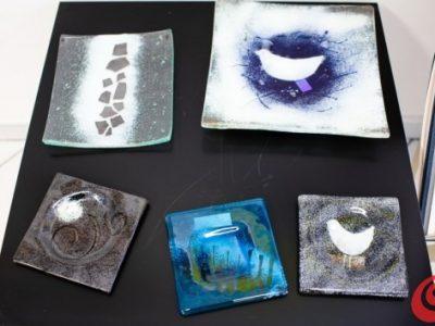 Piatti in ceramica di Silva Karim